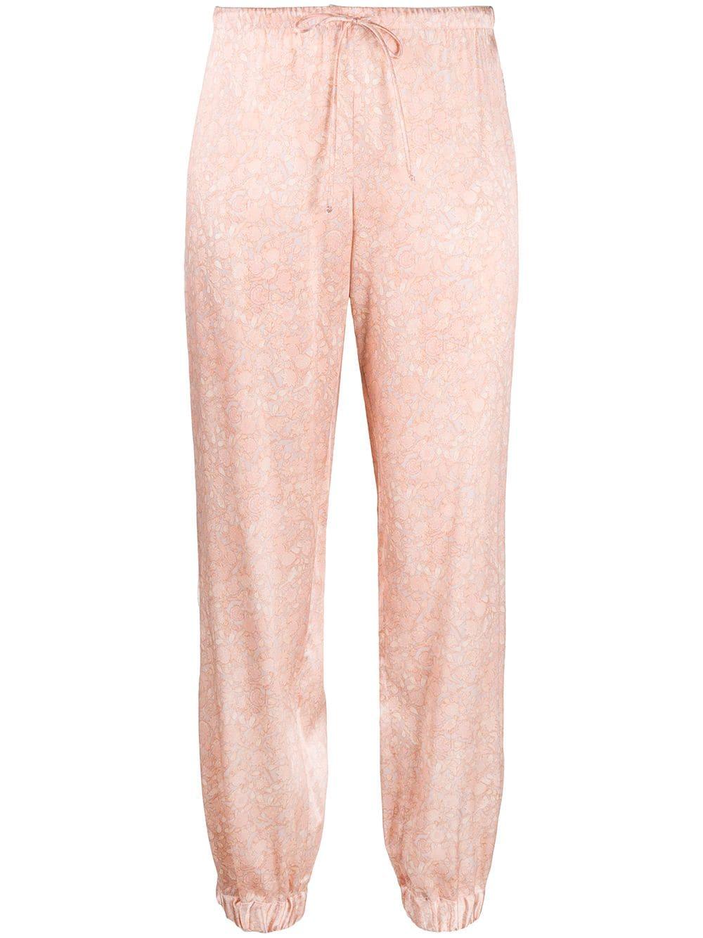 Tree Of Life Silk Pajama Trousers