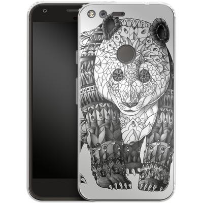 Google Pixel Silikon Handyhuelle - Panda von BIOWORKZ