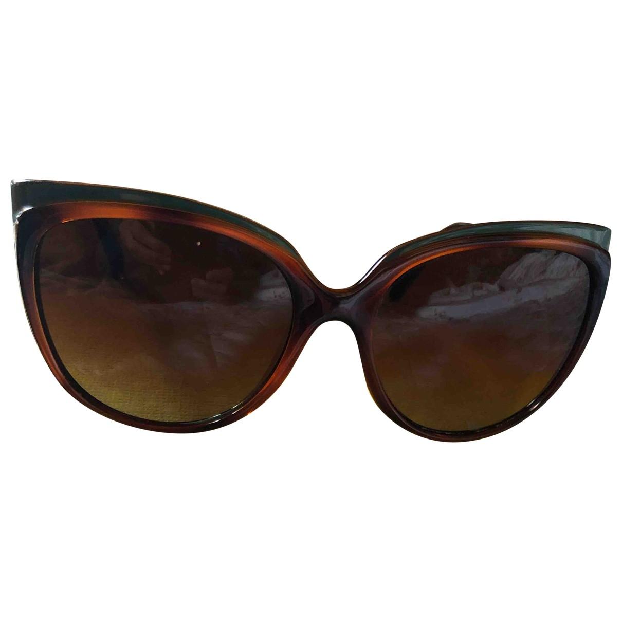 Fendi \N Brown Sunglasses for Women \N