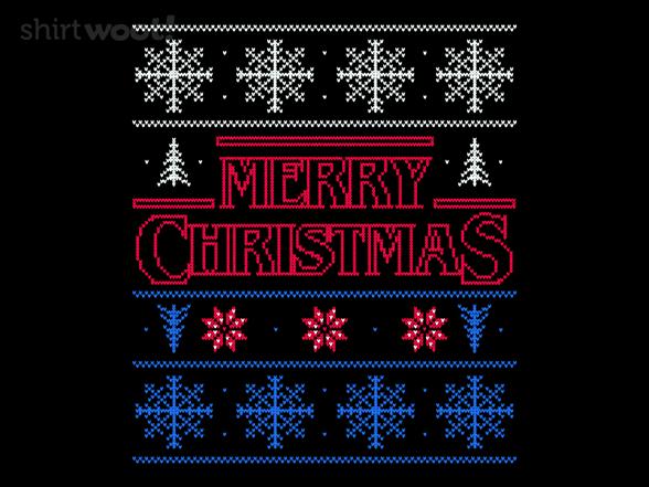 Scary Christmas T Shirt