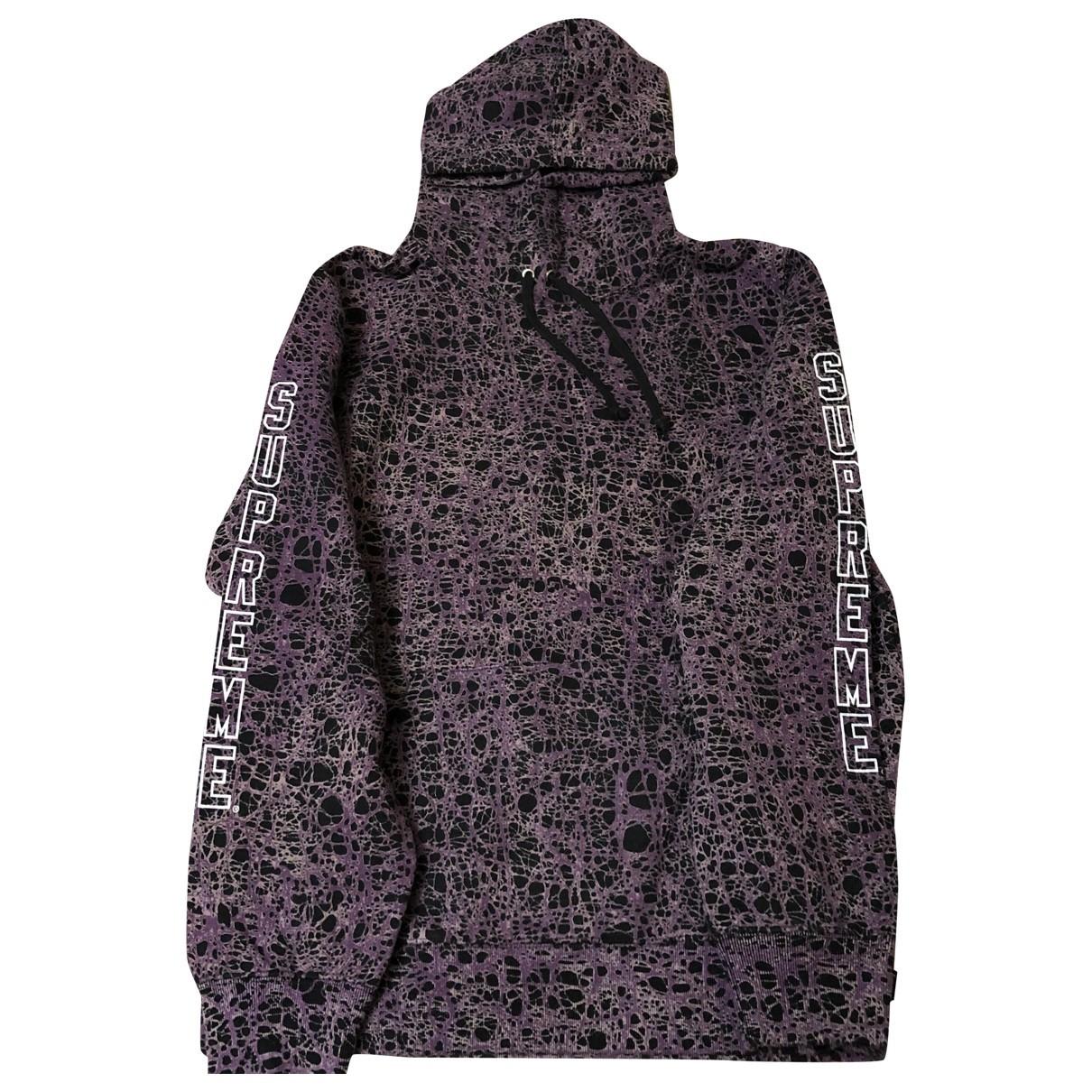 Supreme \N Purple Cotton Knitwear & Sweatshirts for Men M International