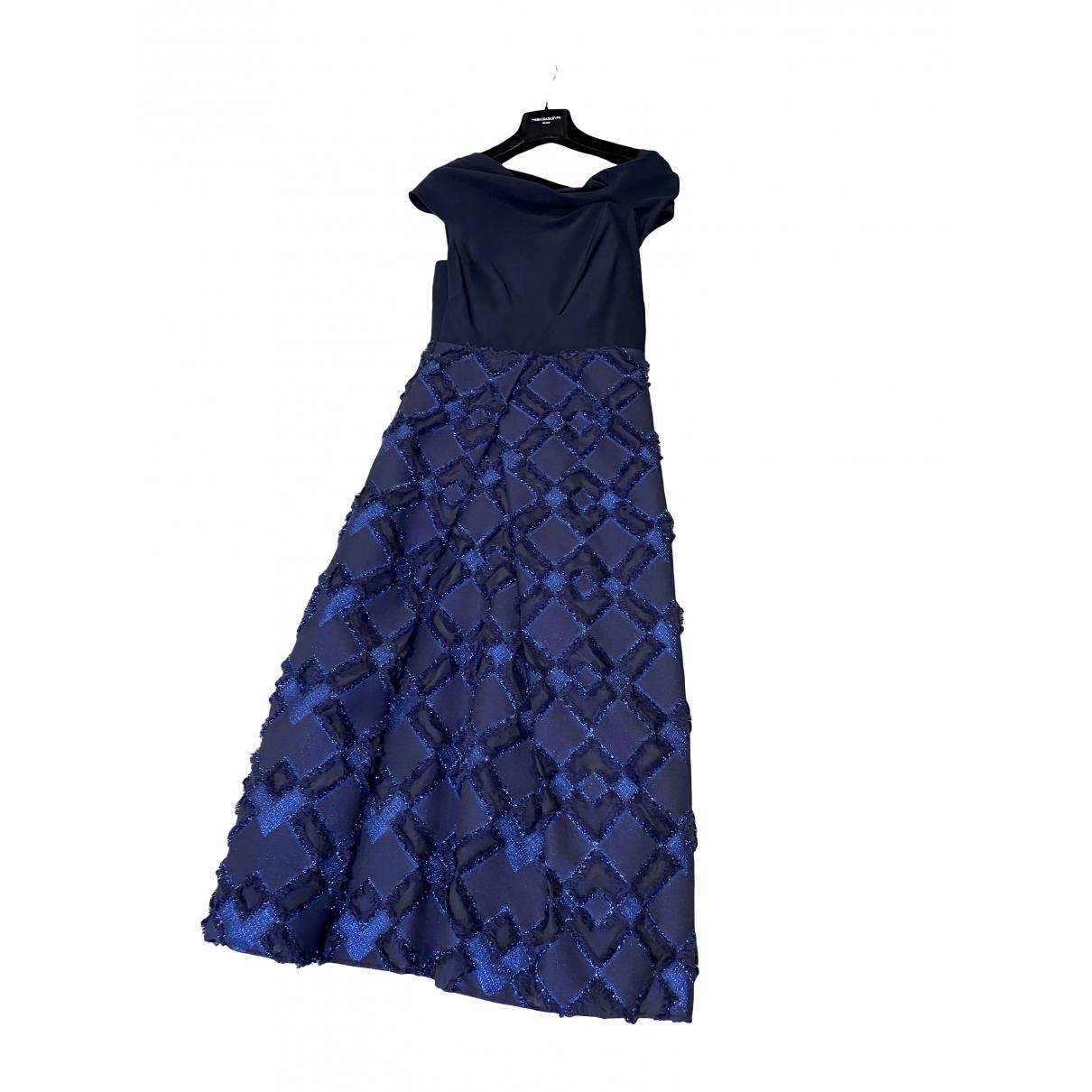 Maria Grazia Severi \N Kleid in  Blau Baumwolle