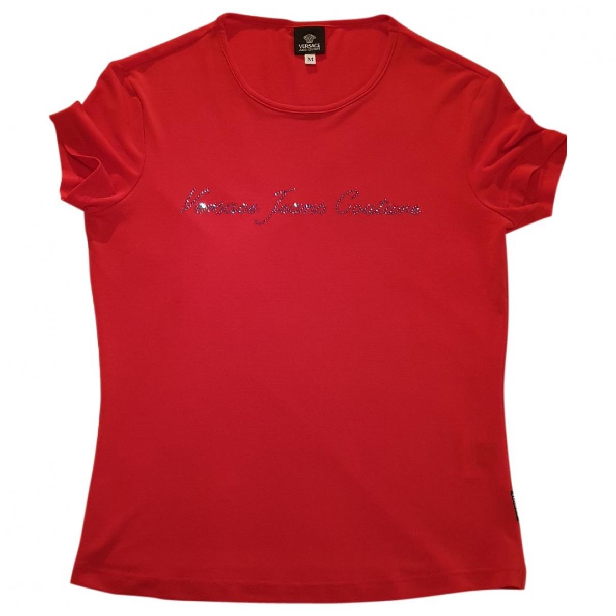 Versace Jean - Top   pour femme - rouge