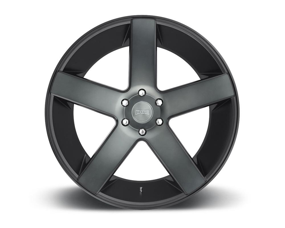 DUB S116 Baller Black & Machined w/ Dark Tint 1-Piece Cast Wheel 26x10 6x139.7 30mm