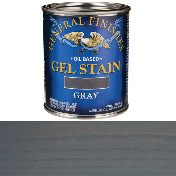 Gray Stain Gel Solvent Based Pint
