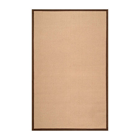 nuLoom Laurel Jute Rug, One Size , Brown