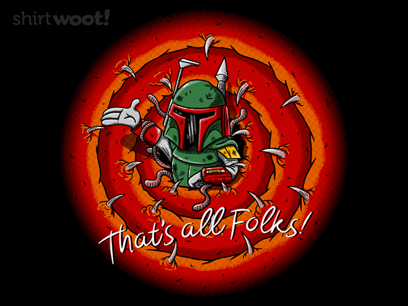 That's Sarlacc Folks! T Shirt