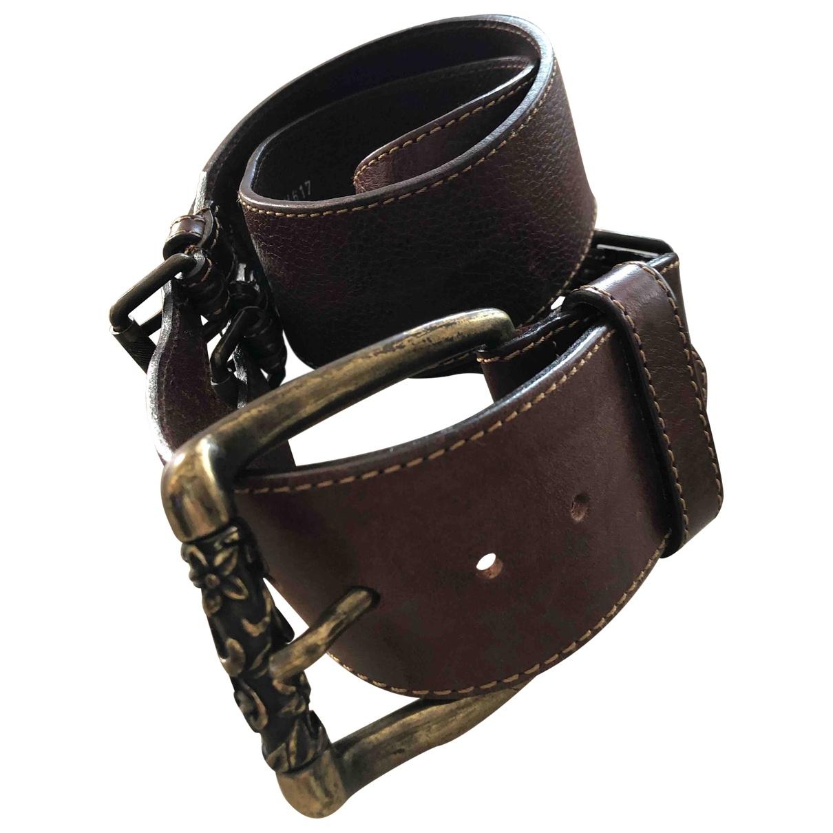 Cinturon de Cuero Berge