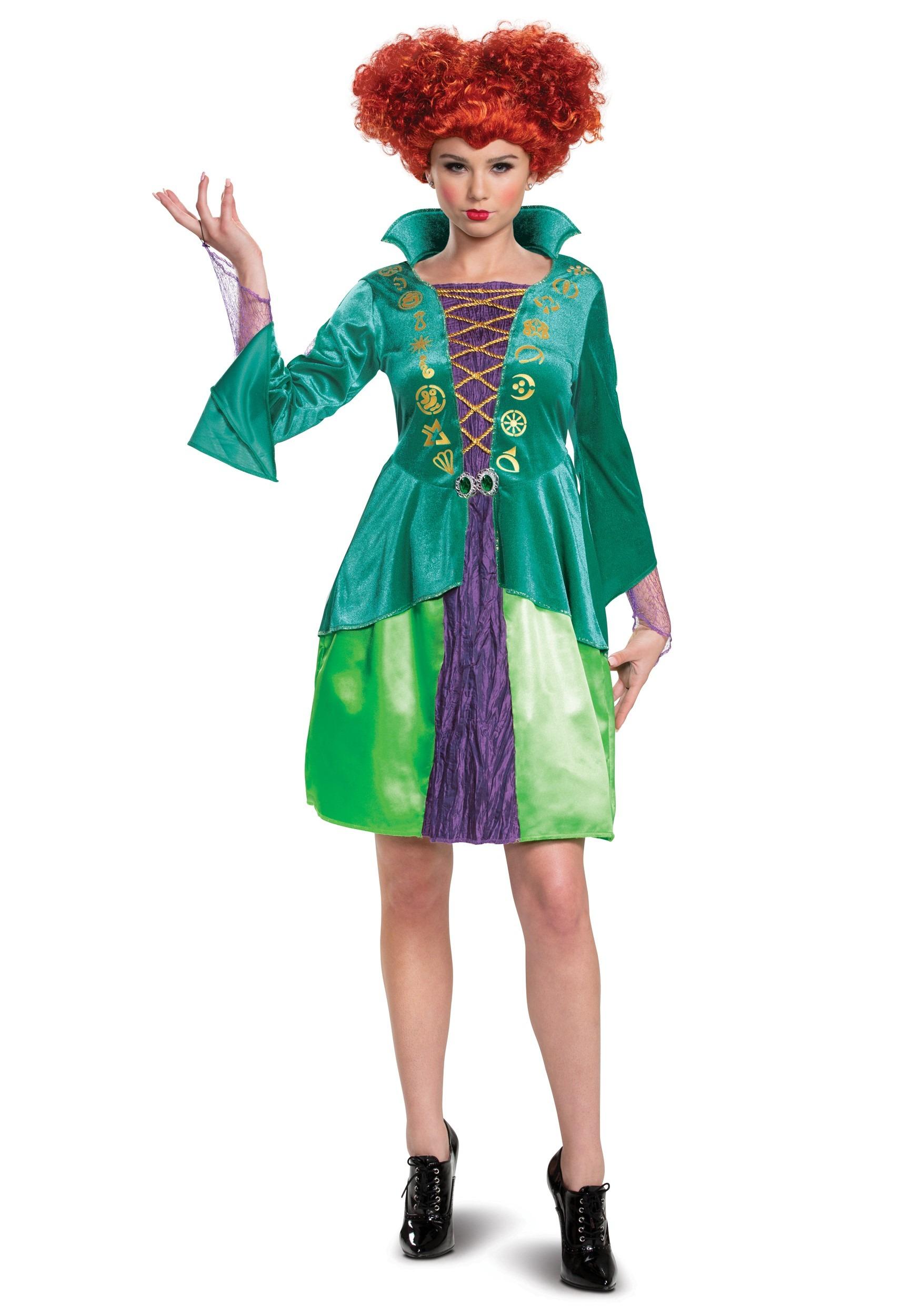 Women's Hocus Pocus Classic Wini Costume