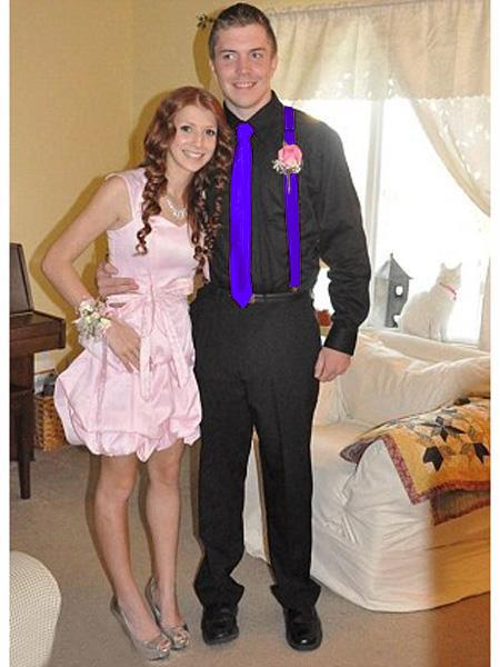 High7School Homecoming Outfits For Guys Casual Package Blue-Violet