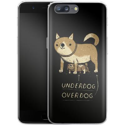 OnePlus 5 Silikon Handyhuelle - Underdog Overdog von Louis Ros