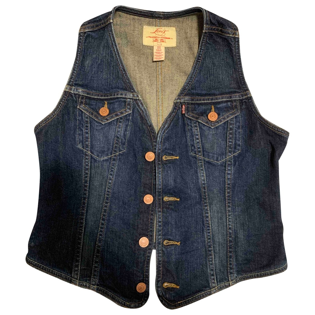 Levi's \N Blue Cotton Knitwear for Women M International