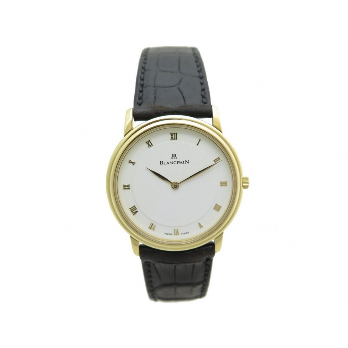 Blancpain Villeret Ultra-Plate Uhr in  Gold Gelbgold