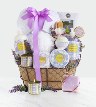Lavender Spa Getaway Gift - WebGift