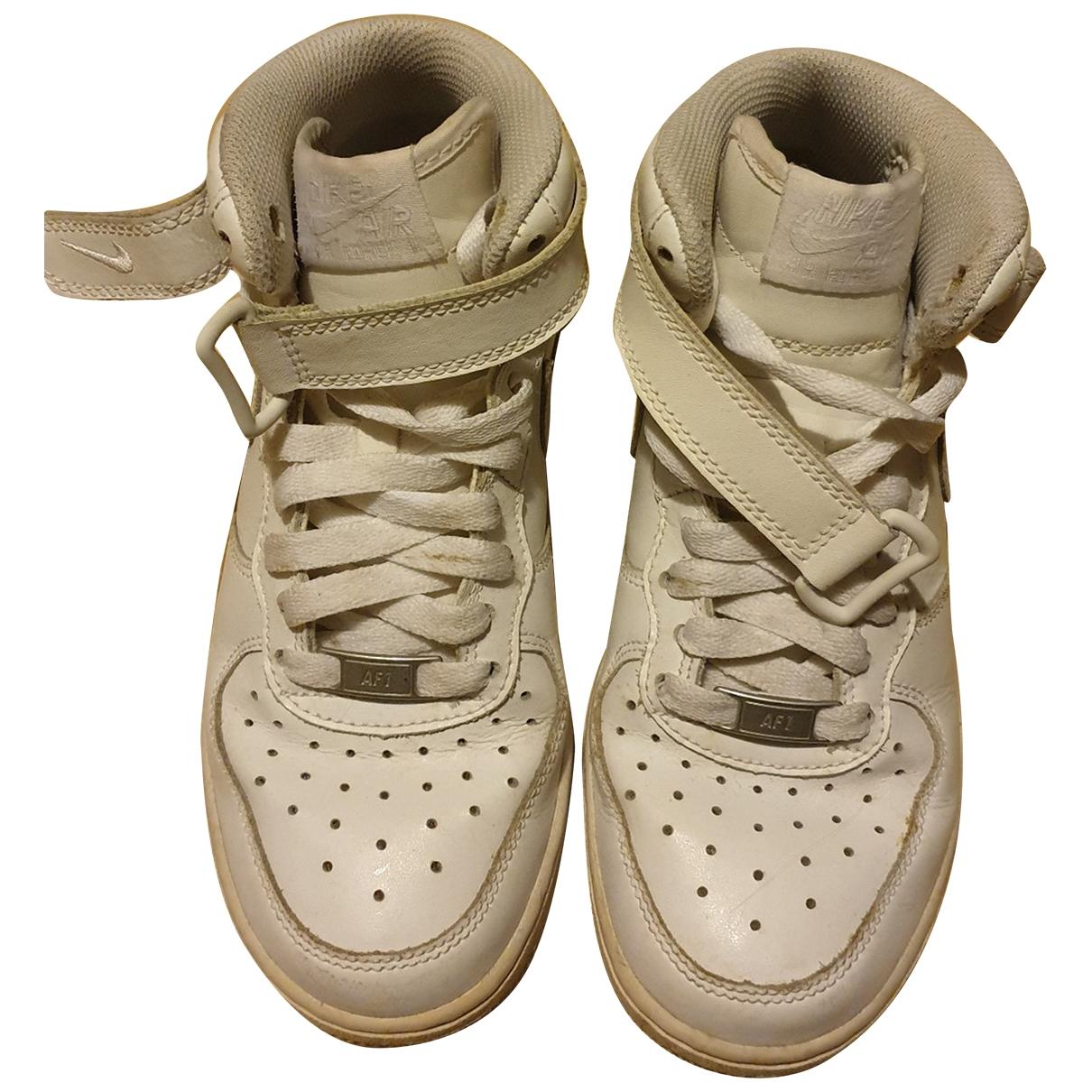 Nike - Baskets Air Force 1 pour enfant - blanc