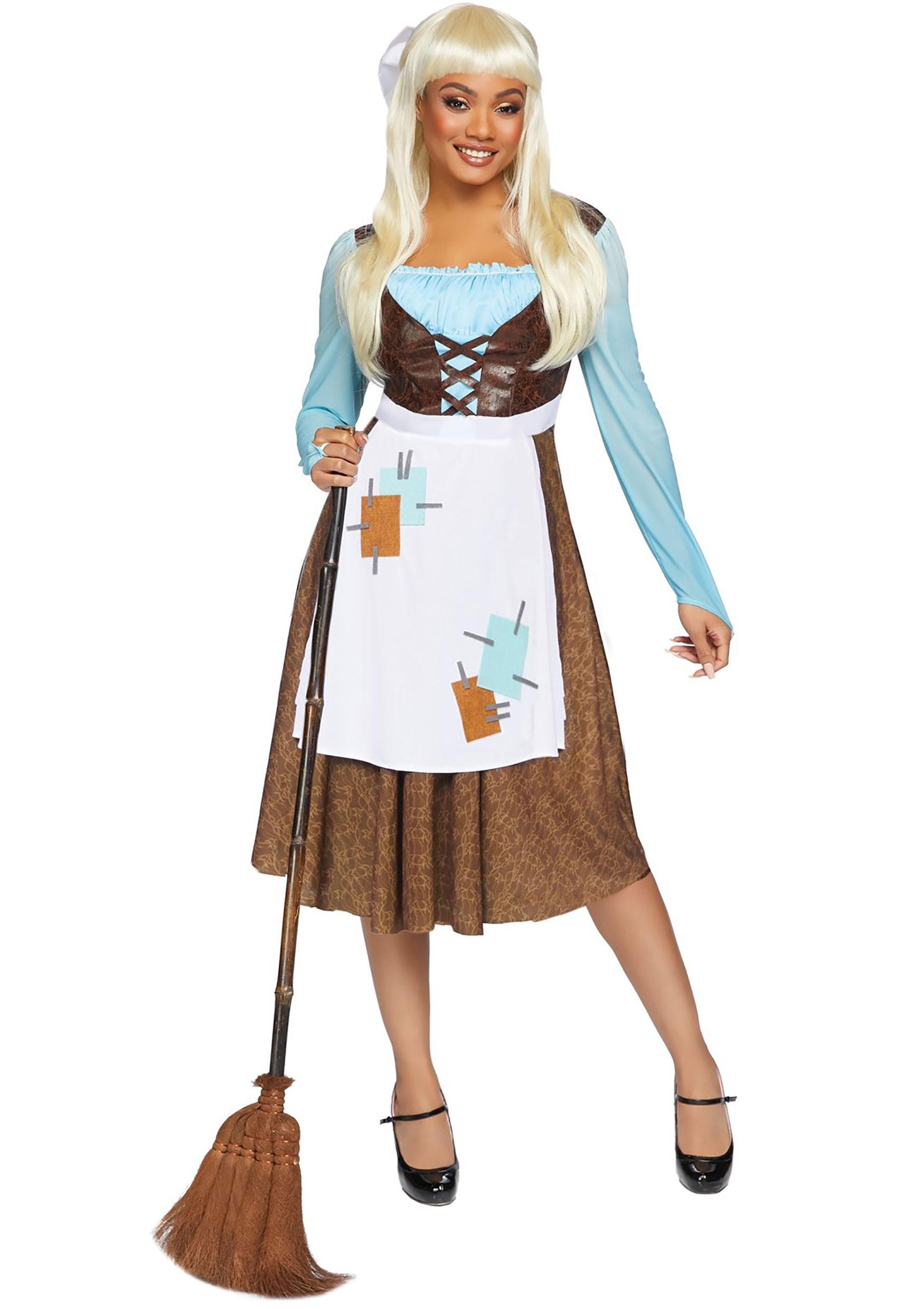 Peasant Cinderella Costume for Women
