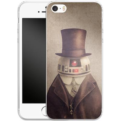 Apple iPhone 5s Silikon Handyhuelle - Duke R2 von Terry Fan