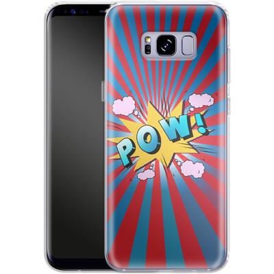 Samsung Galaxy S8 Plus Silikon Handyhuelle - Pow von Mark Ashkenazi