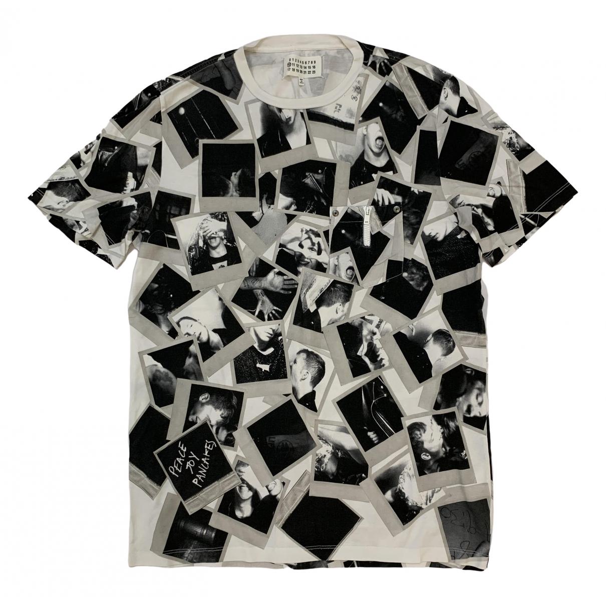 Maison Martin Margiela \N Grey Cotton T-shirts for Men L International