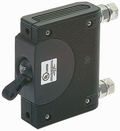 ETA 1 Pole Panel Mount Non Fused Isolator Switch - 125 A Maximum Current, IP00, IP40