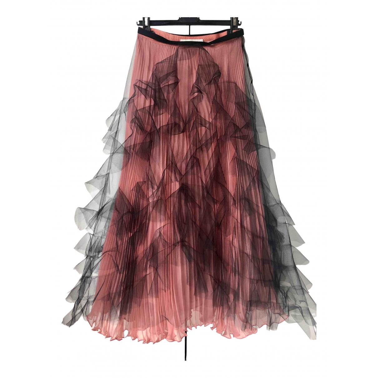 Valentino Garavani - Jupe   pour femme en soie - rose