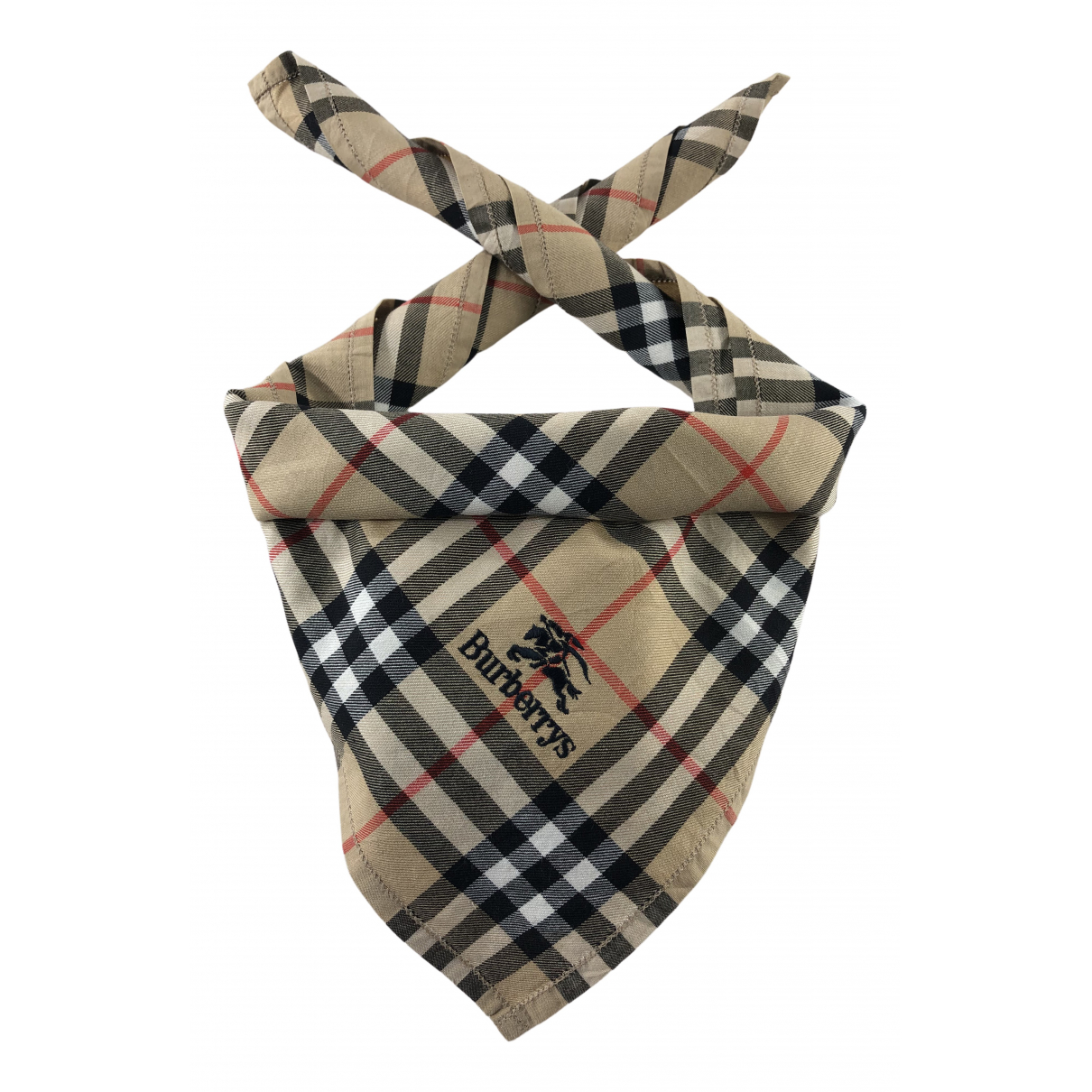 Burberry N Brown Cotton scarf & pocket squares for Men N