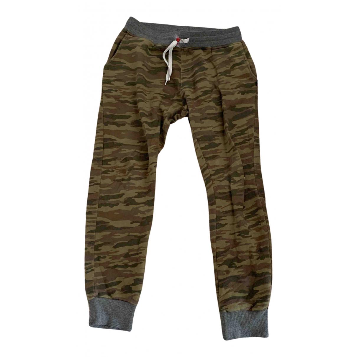 Sweet Pants \N Pullover.Westen.Sweatshirts  in  Khaki Baumwolle