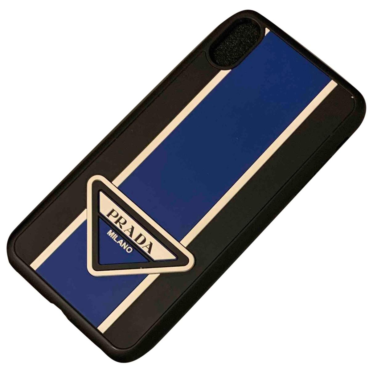 Prada \N Accessoires in  Blau Kunststoff