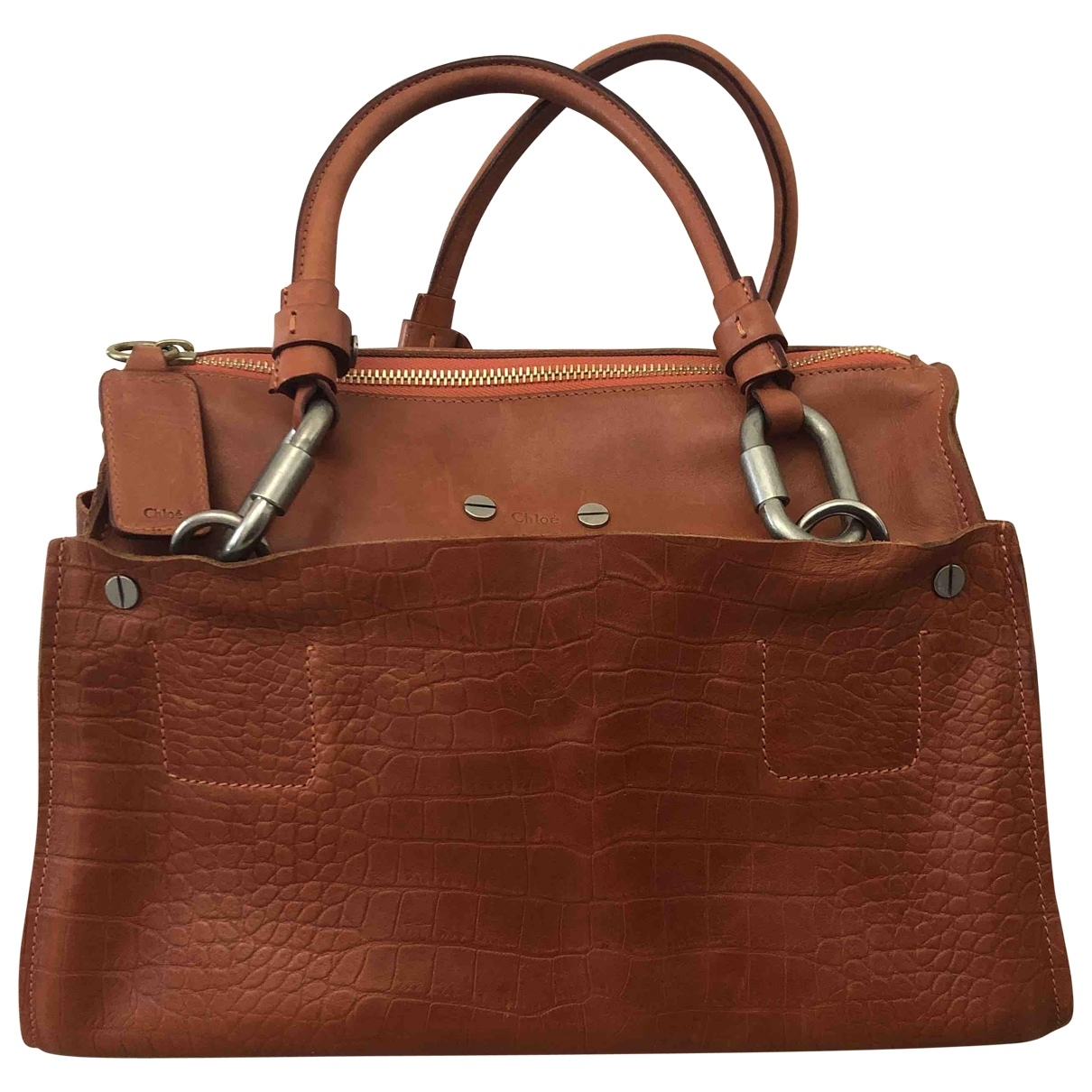 Chloé \N Camel Leather handbag for Women \N