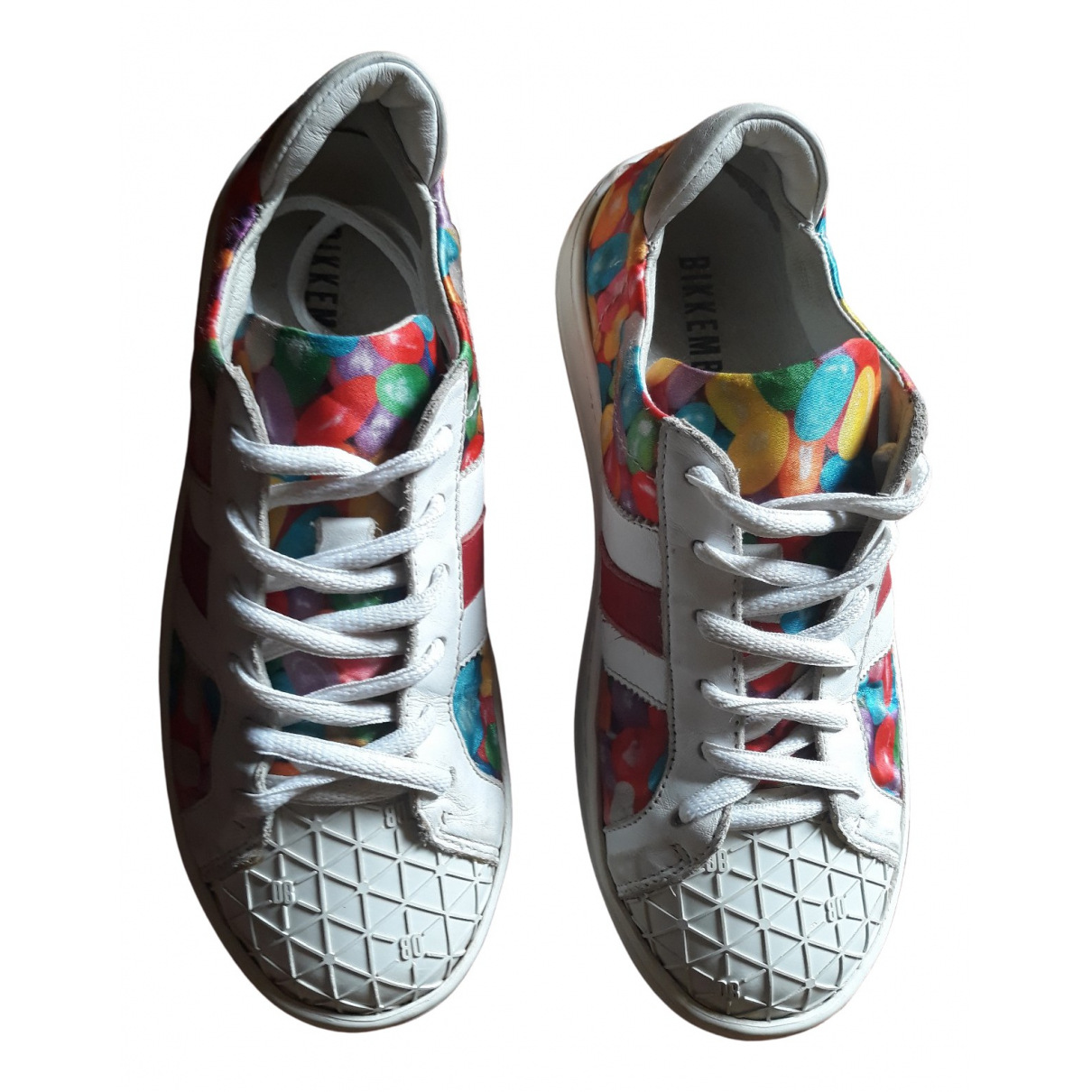 Dirk Bikkembergs \N Multicolour Cloth Trainers for Kids 32 FR