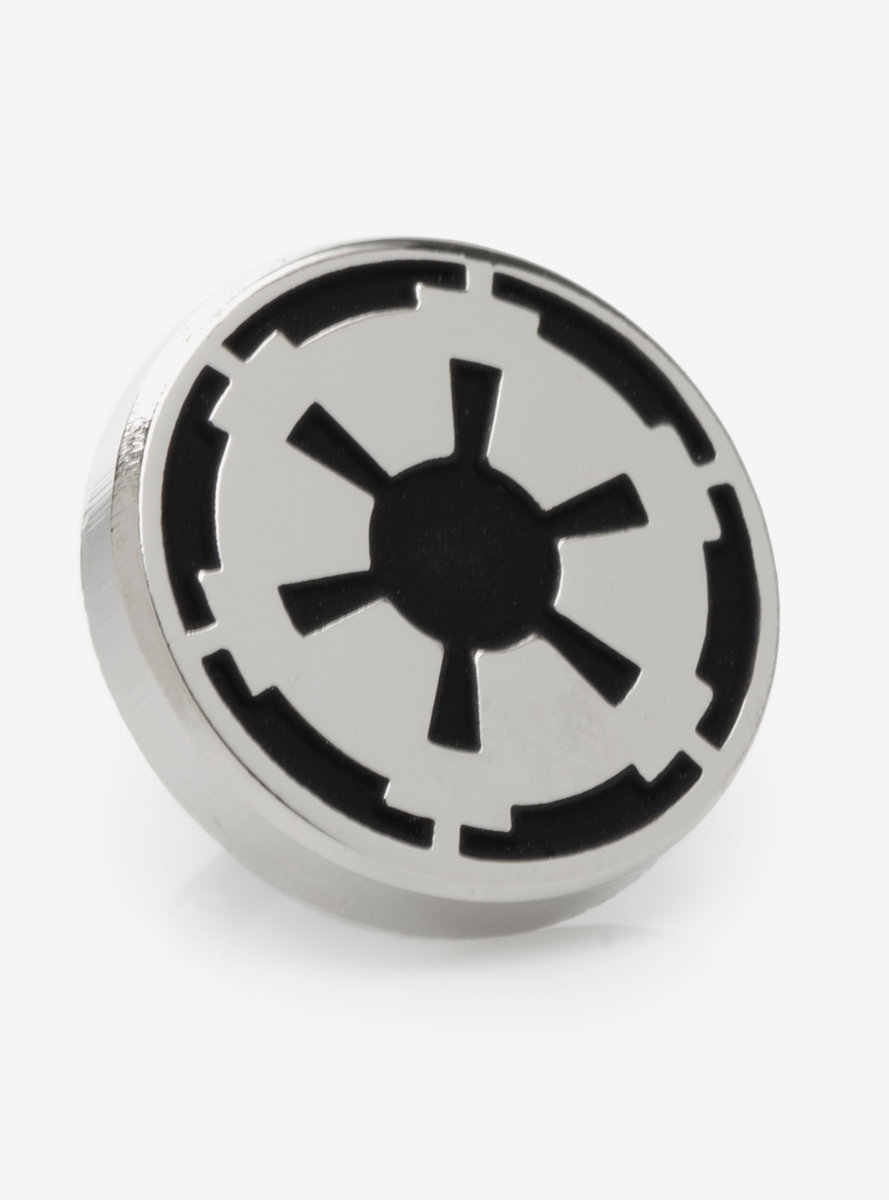 Star Wars Imperial Icon Silver Lapel Pin