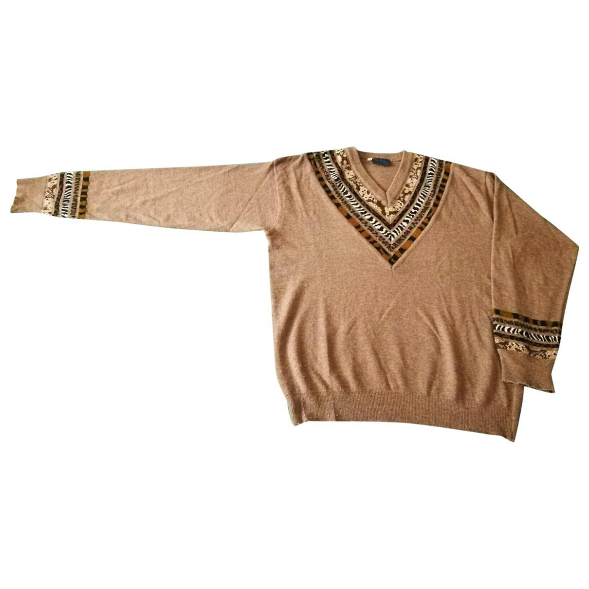 Kenzo \N Camel Wool Knitwear for Women 48 IT