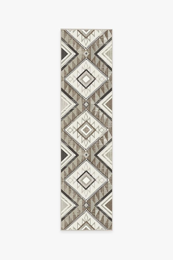 Washable Rug Cover | Santa Fe Natural Rug | Stain-Resistant | Ruggable | 2.5'x10'