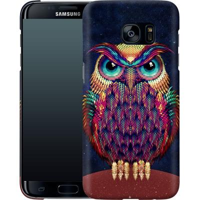 Samsung Galaxy S7 Edge Smartphone Huelle - Owl von Ali Gulec
