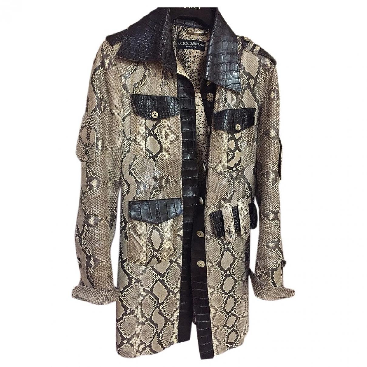 Dolce & Gabbana \N Trench in Python