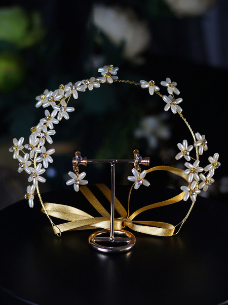 Milanoo Headpieces Wedding Flower Headwear Hair Accessories For Bride