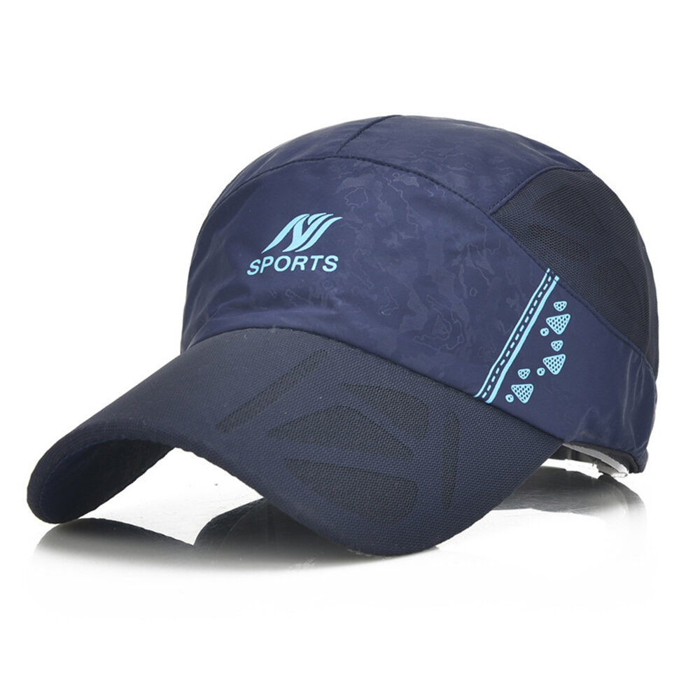 Womens Mens Summer Cotton Sport Breathable Baseball Cap Adjustable Dad Hats Quick Drying Cap