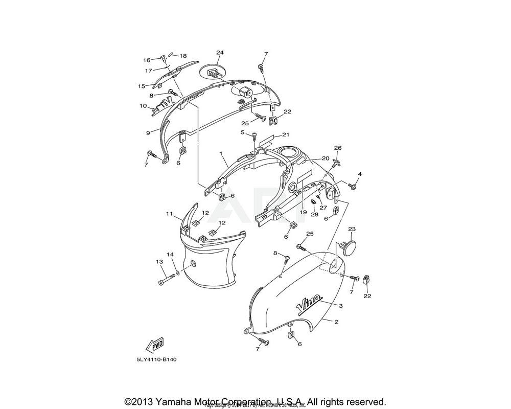 Yamaha OEM 91690-25012-00 PIN, SPRING