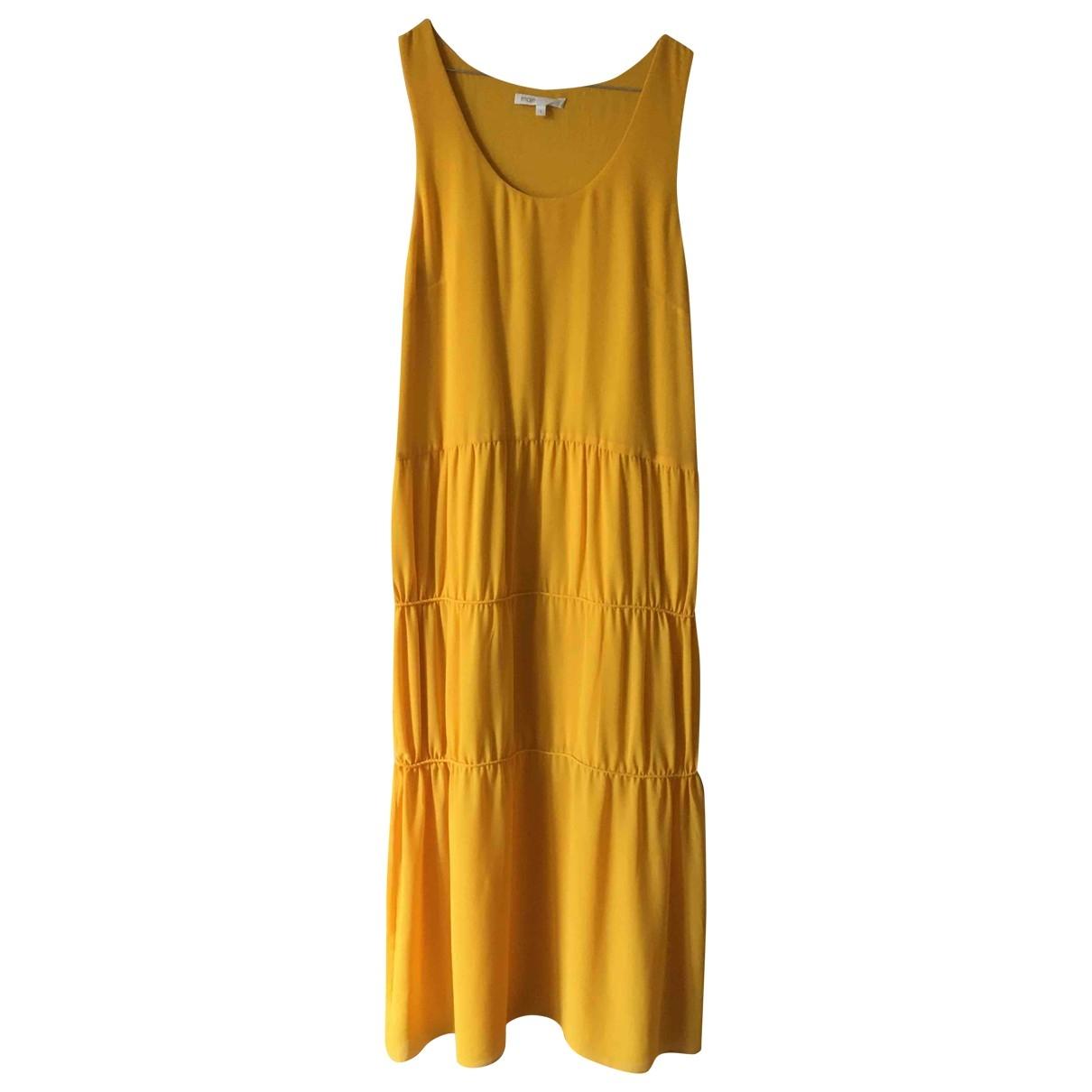 Maje - Robe   pour femme - jaune