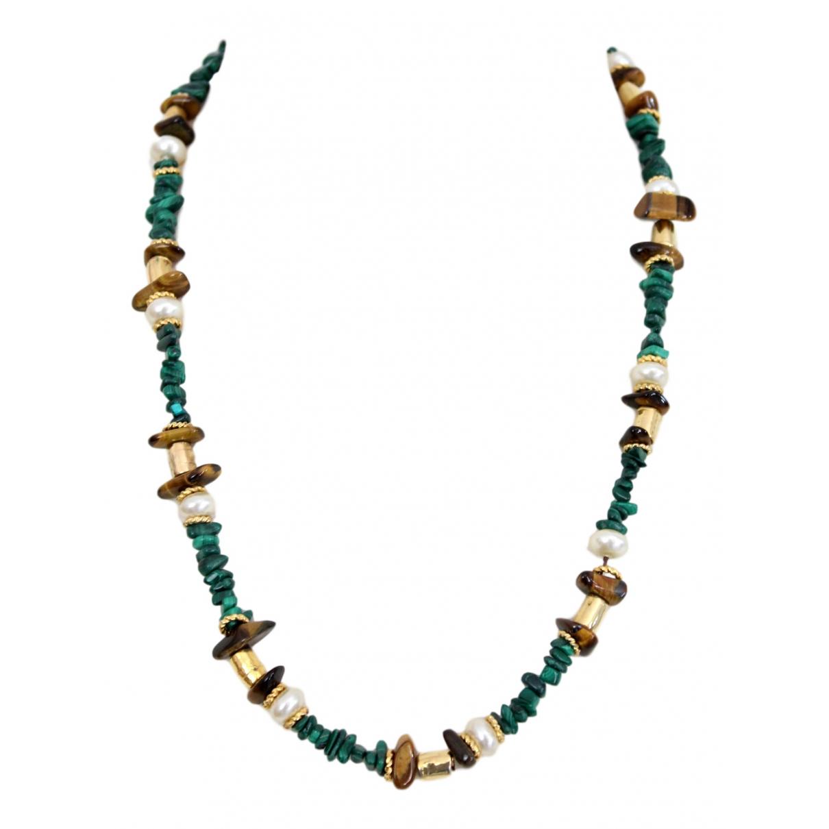 Pierre Cardin \N Halskette in  Gruen Metall