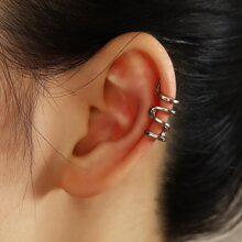 Metallische Ohrringe
