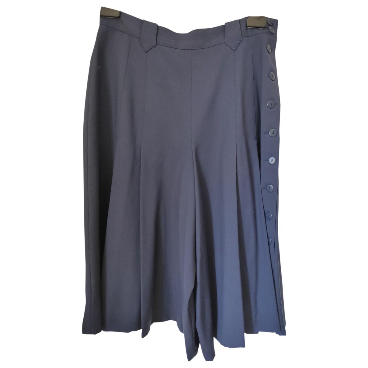 Georges Rech - Jupe   pour femme en laine - bleu