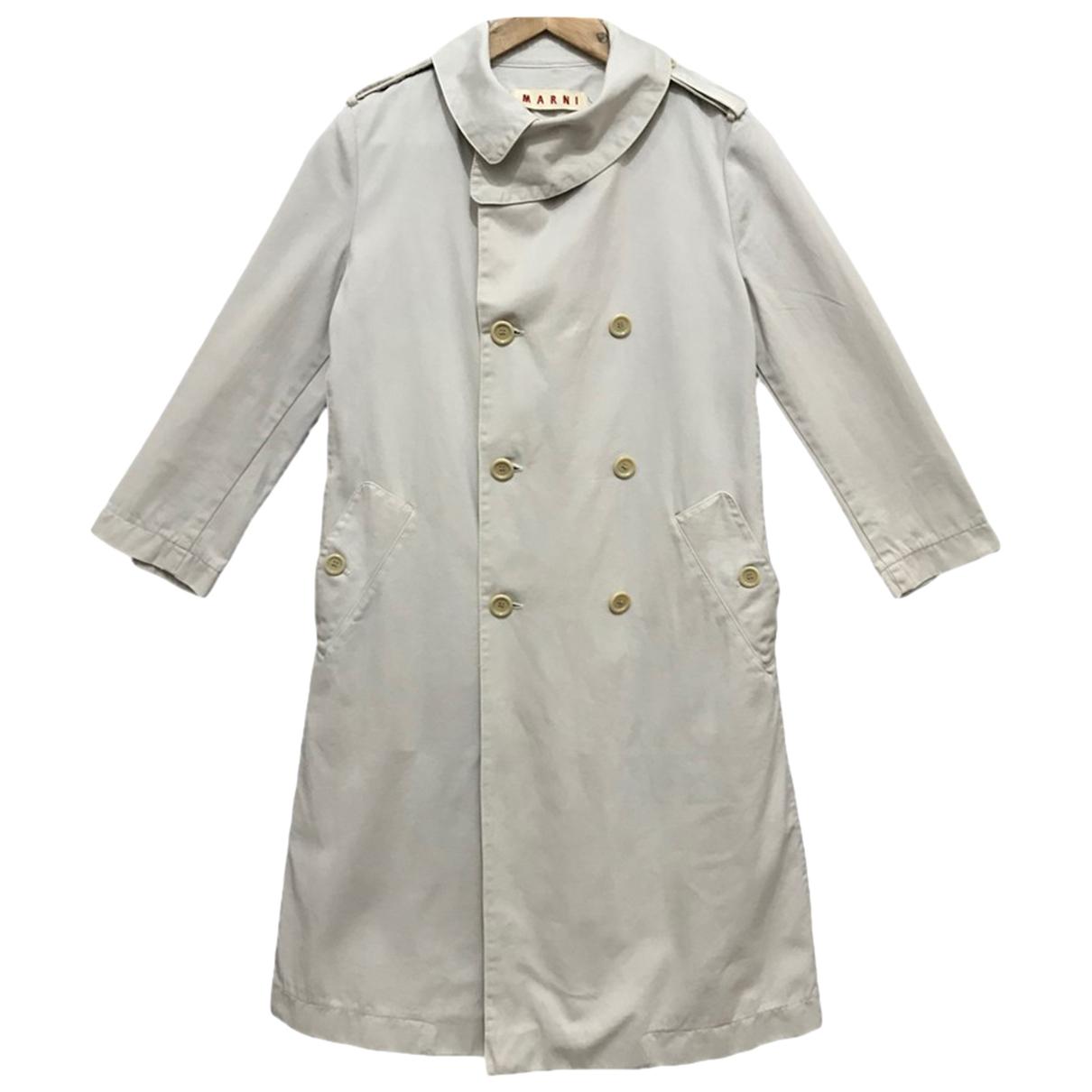 Marni - Veste   pour femme en coton - blanc