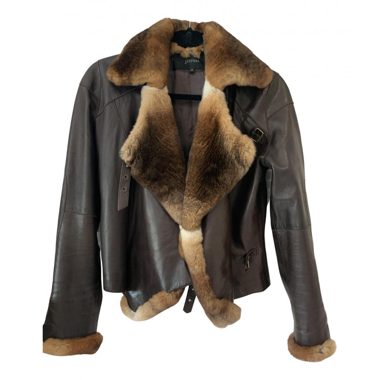Jitrois \N Brown Fur jacket for Women 42 FR