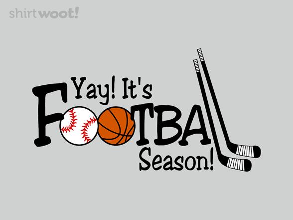 Football Season T Shirt
