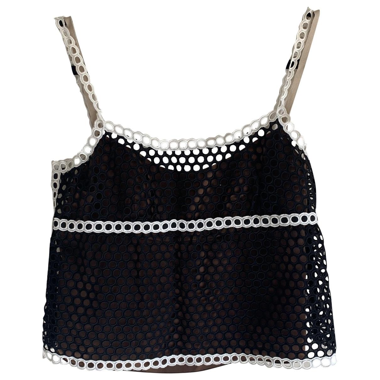 Marc Jacobs - Top   pour femme en soie - noir