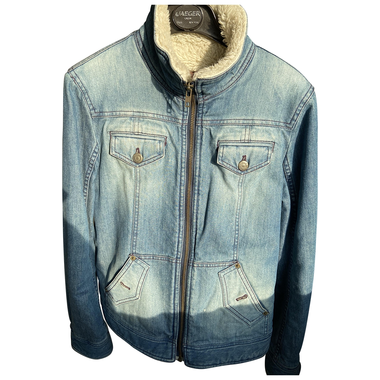 Marc By Marc Jacobs \N Blue Denim - Jeans jacket for Women 4 US