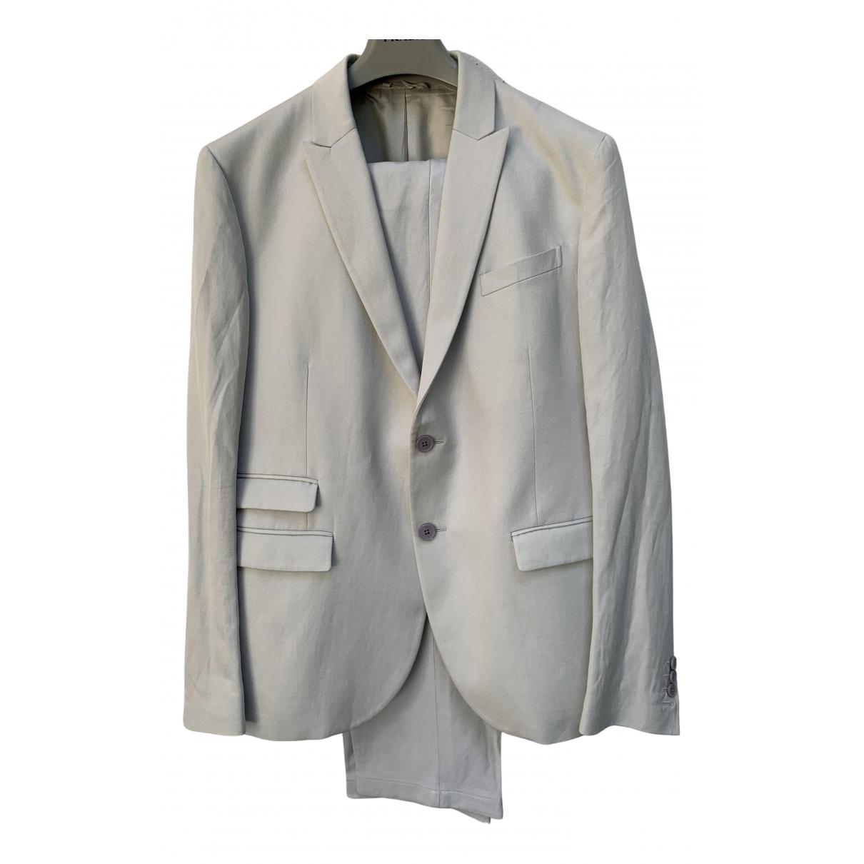 Neil Barrett - Costumes   pour homme en coton - gris