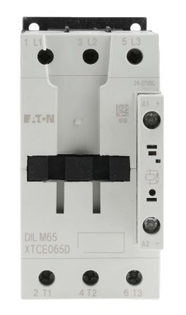 Eaton 3 Pole Contactor - 65 A, 24 V dc Coil, xStart, 3NO, 30 kW