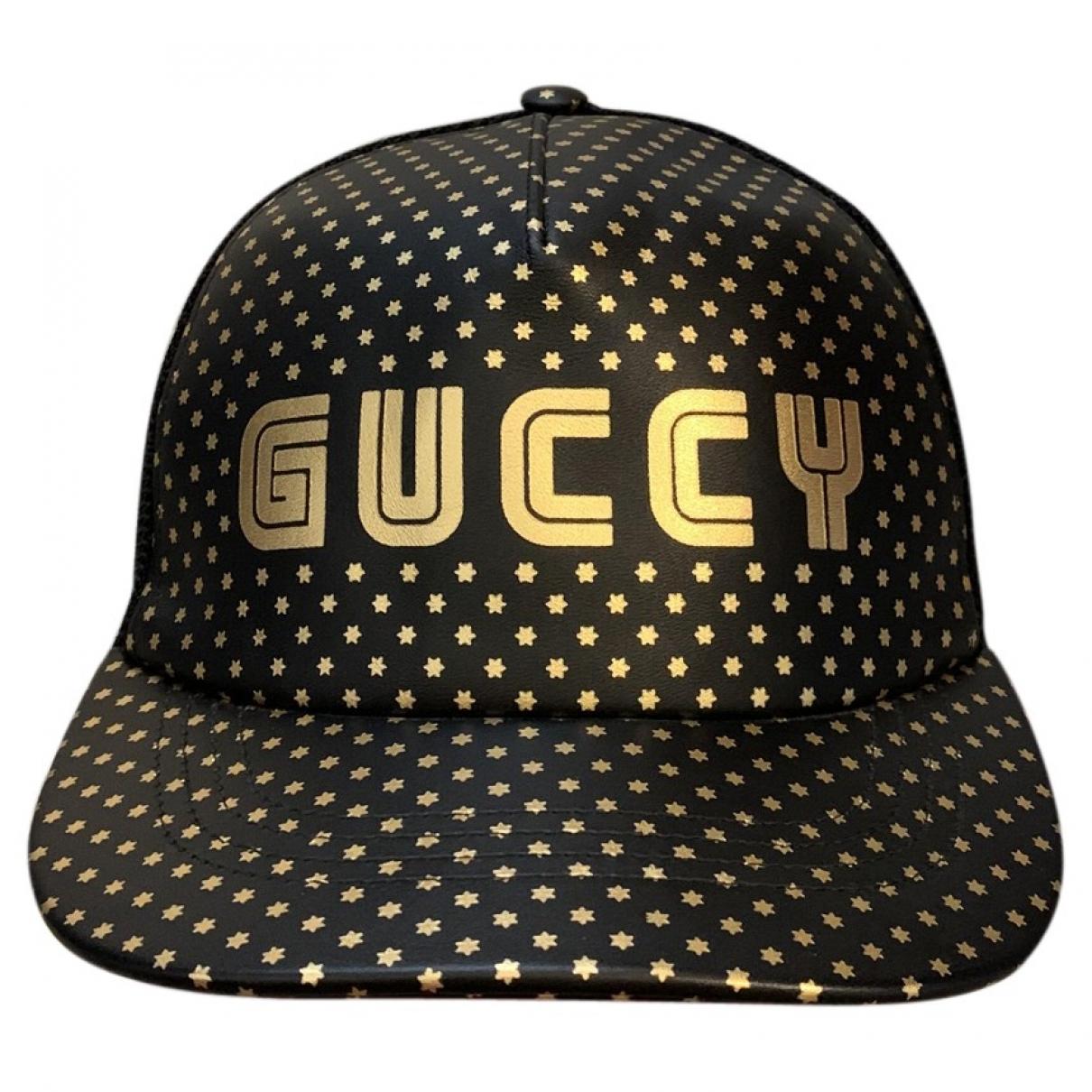 Sombrero / gorro de Cuero Gucci